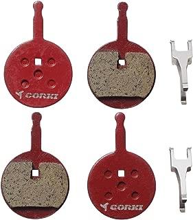 2 Pairs Bicycle Disc Brake Pads for Avid Mechanical BB5 (Resin,Semi-Metallic,Sintered Metal)