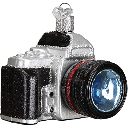 set of 2 Kurt Adler Classic /& Digital Camera Christmas Tree Ornament