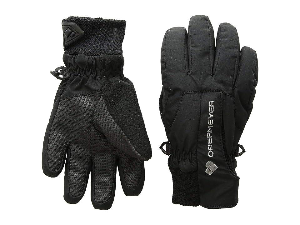Obermeyer Kids Thumbs Up Gloves (Little Kids/Big Kids) (Black) Extreme Cold Weather Gloves