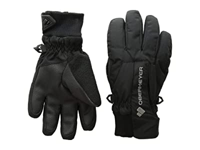 Obermeyer Kids Thumbs Up Gloves (Little Kids/Big Kids) (Black) Extreme Cold Weather Gloves