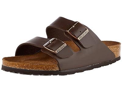 Birkenstock SINGLE SHOE Arizona Birko-Flor (Brown Birko-Flor) Shoes