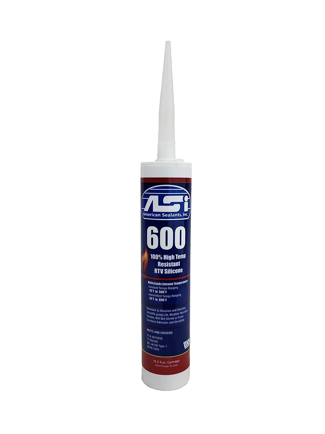 High Temperature (Red) 50 Year RTV Silicone (5)