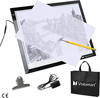 Voilamart A3 LED Copy Board Ultra-Thin LED Tracing Board Dimmable Brightness Artcraft Animation Drawing Stencil Pad Panel ...