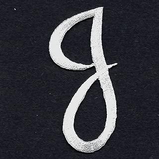SCRIPT LETTERS White Script Letter