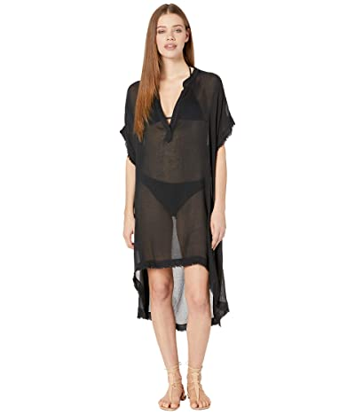 Billabong Found Love Dress Cover-Up (Black Pebble) Women