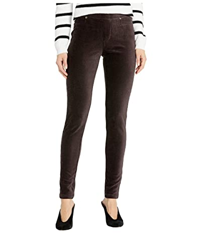 Calvin Klein Ribbed Leggings with Pocket (Otter) Women