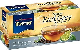Meßmer Earl Grey aromatisiert 25 TB, 6er Pack 6 x 43,75 g Packung