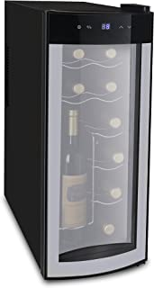Frigidaire FRW1225 Wine Cooler, Black