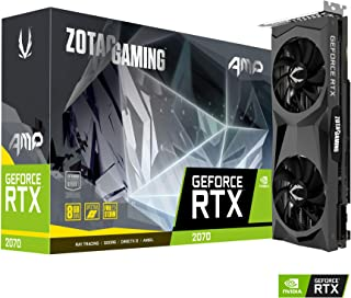 ZOTAC GAMING RTX 2070 8GB AMP Edition GDDR6 Twin Fan グラフィックスボード VD6768 ZTRTX2070-8GGDR6ATWIN