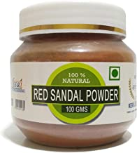 Raintech Natural Redsandal Powder/Rakthachandana Podi/Laal Chandan For Face Pack - 100 Gms