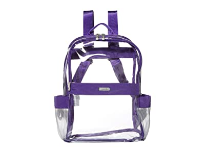 Baggallini Clear Event Compliant Medium Backpack (Royal Purple) Backpack Bags