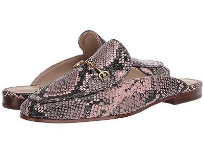 Sam Edelman Linnie (Deco Pink Exotic Snake Print Leather) Women