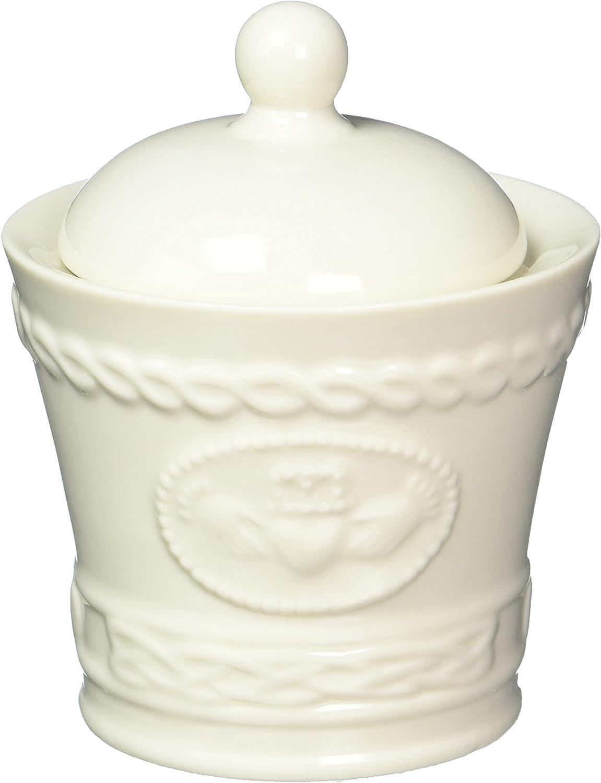 Belleek Claddagh Sugar & Creamer Set