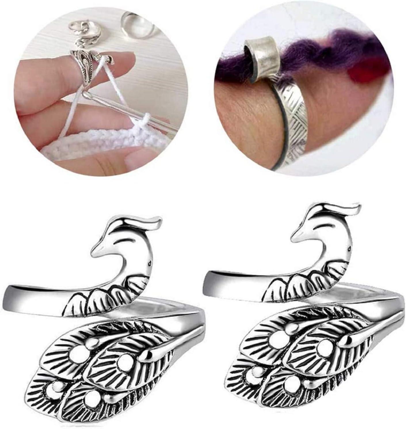 Adjustable Knitting Loop Popular standard Crochet Phoenix Loo Ring Super-cheap Advanced