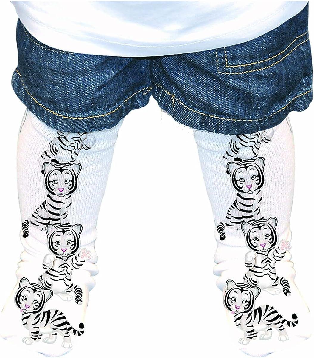 White Tiger Cubs Socks