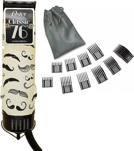 popular Oster 76 wholesale Mustache Professional Hair outlet sale Clipper Limited Edition + 10 PC Comb Set online sale