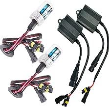 Sixty61 Suzuki GSXR 1000 2007-2008 Xenon HID headlight conversion bulbs kit H9/H7 (10000K - Deep Blue)