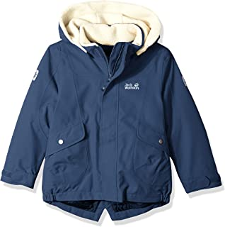 Jack Wolfskin Girl's Great Bear Waterproof Sherpa Insulated Jacket