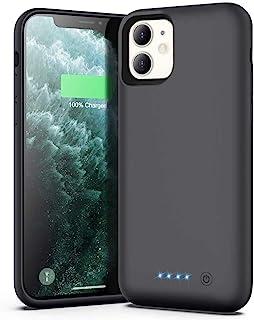 Ekrist Funda Batería para iPhone 11, 6800mAh Funda Cargador Portatil Ultra Capacidad Carcasa Batería Recargable Batería Externa para iPhone 11 [6,1 Pulgadas]