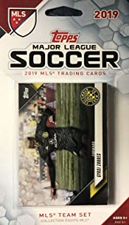 Columbus Crew 2019 Topps MLS Soccer Factory Sealed 8 Card Team Set with Federico Higuain and Gyasi Zardes Plus