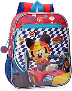 Mochila preescolar Mickey Race 28cm