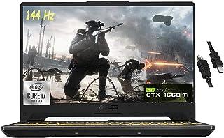 2021 Flagship Asus TUF F15 ゲーミングノートパソコン 15.6インチ FHD 144Hz ディスプレイ 第10世代 Intel Octa-Core i7-10870H 16GB RAM 512GB SSD NVIDIA...