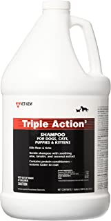 VET-KEM Triple Action Pet Shampoo, 1-Gallon