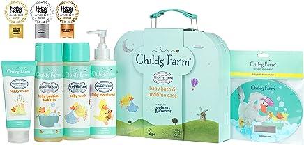 Child's Farm Childs Farm Baby Bath & Bedtime case, Turquoise, 28.5 fl.oz