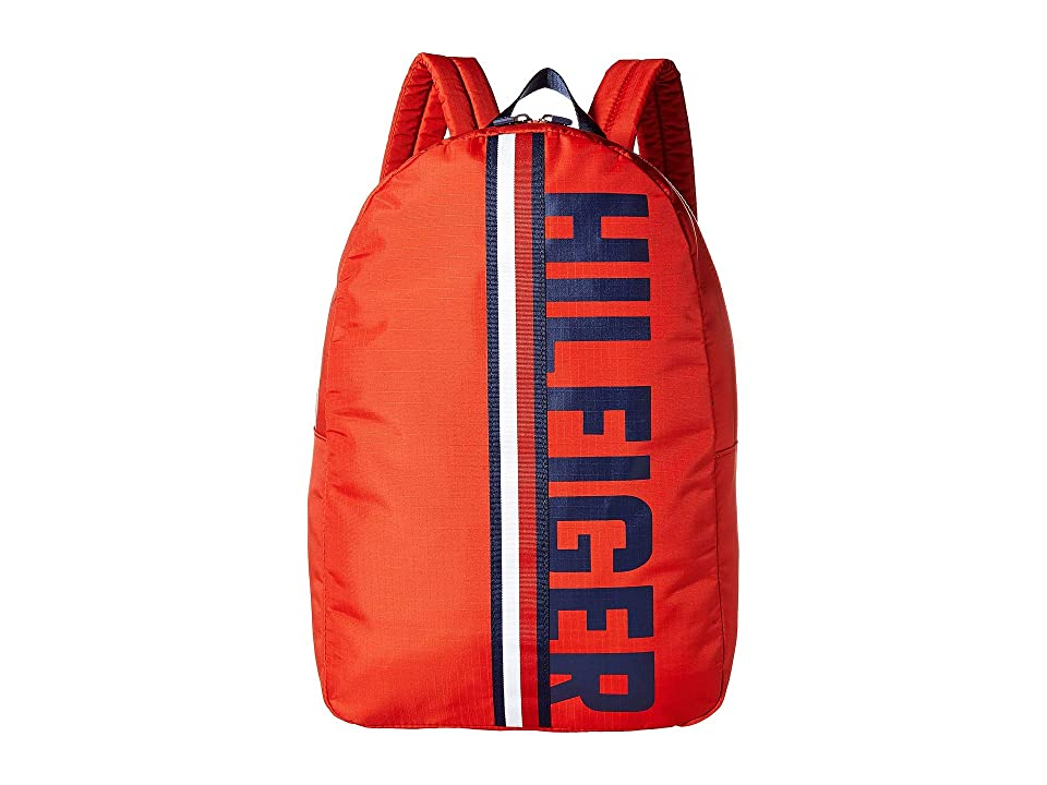 8610c497f35 Tommy Hilfiger Knox Hilfiger Rip Stop Nylon Backpack (Red) Backpack Bags