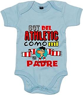 8fad4563 Body bebé soy del Athletic como mi padre Jorge Crespo Cano - Celeste, 6-