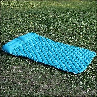 Colchoneta de descanso para acampada al aire libre doble autoinflable colchoneta plegable colchoneta de dormir para picnic al aire libre Camping almohadillas de dormir