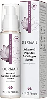 Best DERMA E Advanced Peptides & Collagen Serum, Double-action infused facial serum works during the day/overnight -Firming anti-wrinkle skin & eye firming. Smooths the look of wrinkles and deep lines Review