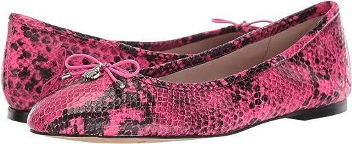 Neon Pink Snake Print