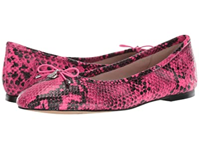 Sam Edelman Felicia (Neon Pink Snake Print) Women