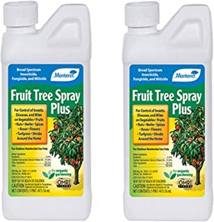 Monterey LG 6184 Fruit Tree Plus for Control of Insects, Diseases & Mites Conc 1pt - 2 Pack