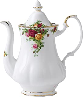 Royal Albert Old Country Roses Coffee Pot Large