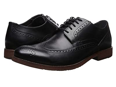 Nunn Bush Middleton Wing Tip Oxford (Black) Men