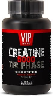 Bodybuilding Supplements for Men - CREATINE TRI-Phase - CREATINE 3X - Creatine monohydrate - Creatine Pills for Men - 1 Bo...