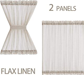 French Door Panel Curtains Window 40