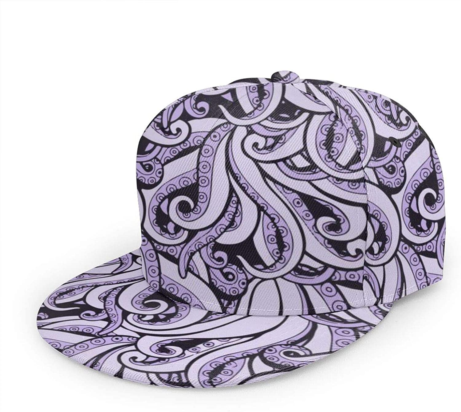 Unisex Baseball Cap, Hip-hop Snapback Flat Hat Fashion Sun Hat for Outdoor Activities,Ursula The Sea Witch Inspired