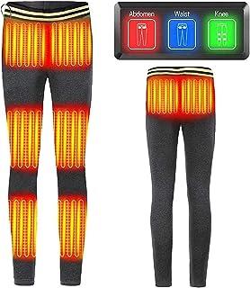 ملابس داخلية ساخنة للنساء، سراويل ساخنة كهربائية USB، جوارب حرارية معزولة مع 5 مناطق تسخين و3 عناصر تحكم في درجة الحرارة