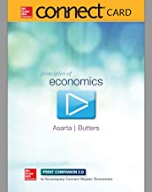 Connect Master 1-Semester Access Card for Principles of Economics