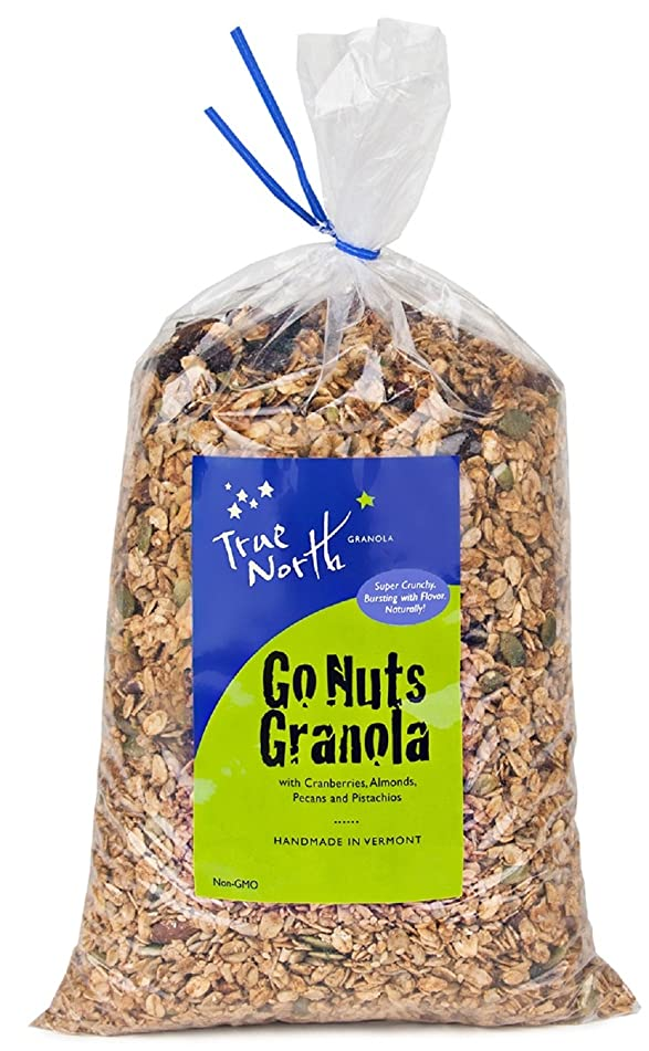Bulk Go Nuts Granola with Pistachios, Almonds, Pecans and Dried Cranberries, All Natural and non GMO by True North Granola (5 LB)