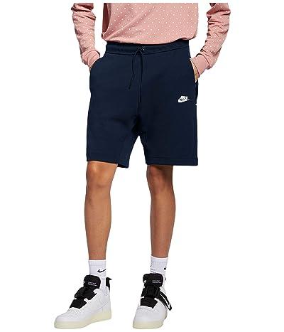 Nike NSW Tech Fleece Shorts (Obsidian/White) Men