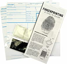 FD-258 Applicant Card Kit (5 Pack): with Cards, Ink, Correction Tabs and Directions