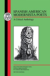 Spanish American Modernista Poets: A Critical Anthology (2nd edition)