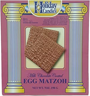 Milk Chocolate Coated Egg Matzoh By Holiday Candies