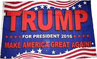 Trump For President 2016 Make America Great Again 3'x5' Polyester Flag
