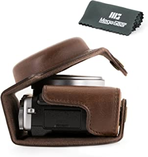 MegaGear Fujifilm X70 Ever Ready Leather Camera Case with Strap