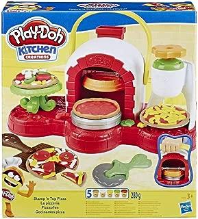 Play-Doh- Horno de pizzas (Hasbro E4576EU4)